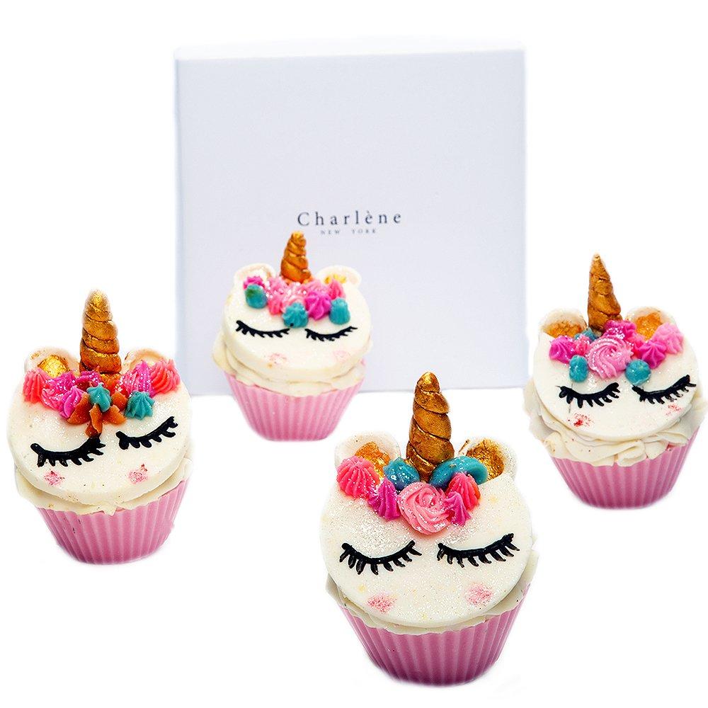 Amazon.com : Charlene New York Unicorn Soap Cupcake Gift Set - Ideal ...