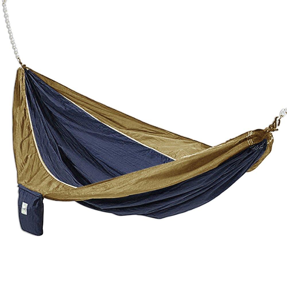 amazon     hammaka parachute silk lightweight portable double hammock in blue   green   eno hammock   garden  u0026 outdoor amazon     hammaka parachute silk lightweight portable double      rh   amazon