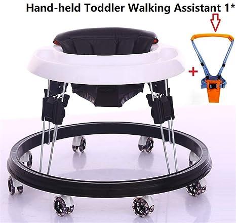 XWDQ Ajustable andadores para bebés con Easy Clean Bandeja, Ocho ...