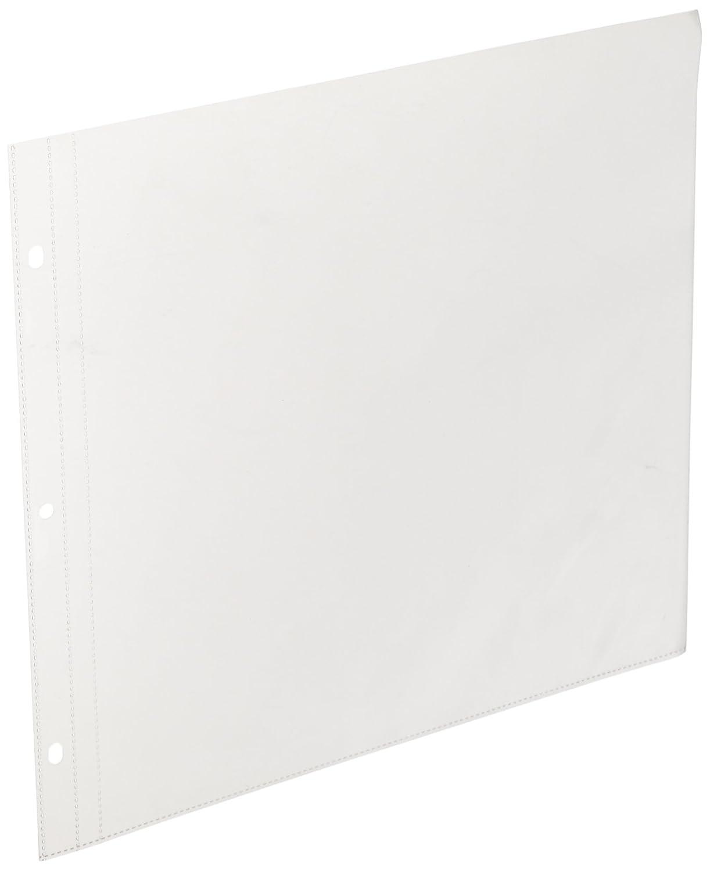 Kaisercraft SA200 D-Ring Album Page Protectors Pocket 12 by 12-Inch