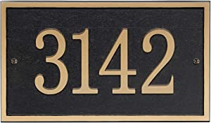 Address Plaque - House Sign Number Wall Plaque (11
