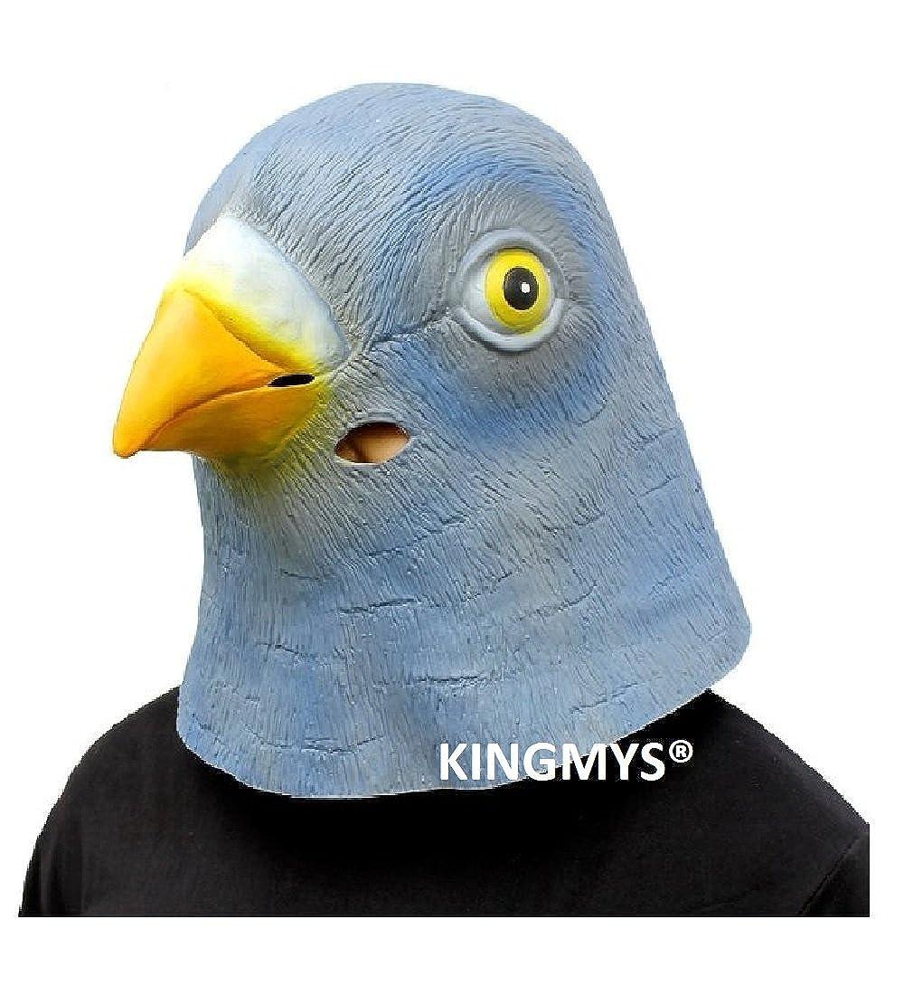 Amazon.com: KINGMYS® Fantastic, Creepy, Halloween Mask (Black ...