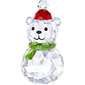 a5fe46b4c Amazon.com: Swarovski Snowman with Broom Stick Christmas Holiday ...