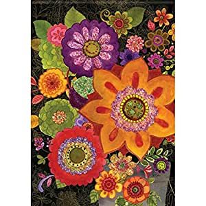 Carson Florals In Fall Flag