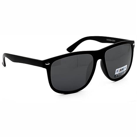 Occhiali Da Sole Uomo Marca Isurf Piu' Modelli Disponibili Con Montatura Nera Lente Nera / Neri (mod Squarest Man) adHjpJd6
