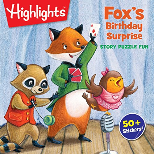 Fox's Birthday Surprise (HighlightsTM  Story Puzzle Fun)