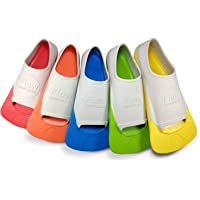 Flow Short Blade Swim Fins for Swimming Pool Lap Training - Youth Sizes