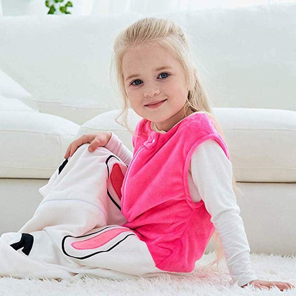 Cwemimifa Baby Schlafsack Winter Strampler m/ädchen Junge /Ärmelloses Karikatur Schlafsack mit geteiltem Bein Jumpsuit-Overall mit Beine Schlafanzug