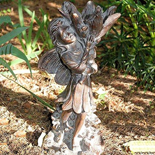 Delightful Flower Fairy Garden Ornament Sculpture 43cm tall