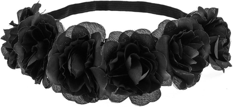 Daisyu Hippie Flower Headpiece Floral Head Wreath Bridal Flower