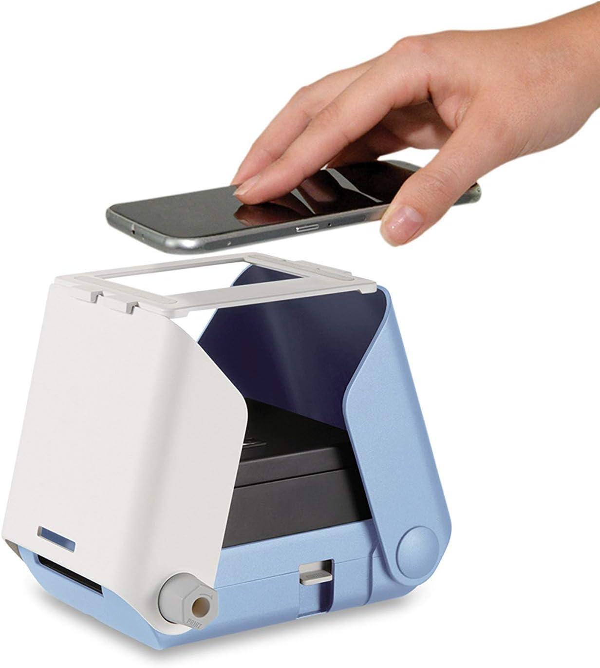 10 Fotos Azul Kiipix Tm3364 Kit Impresora Fotográfica Para Smartphone Con Protector De Pantalla De Fujifilm Instax Mini Impresoras Láser Y De Tinta Unifytulum Informática