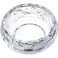 Saim Glass Ashtray Crystal Glass Smoking Ashtray Living Room Office Bar Indoor Restaurant Decoration Cigarettes Tabletop…