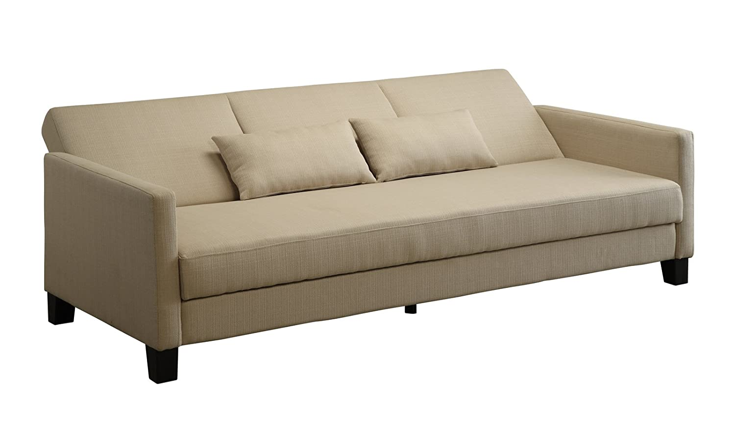 Awesome Dhp Vienna Sofa Sleeper With 2 Pillows Amazon In Home Short Links Chair Design For Home Short Linksinfo