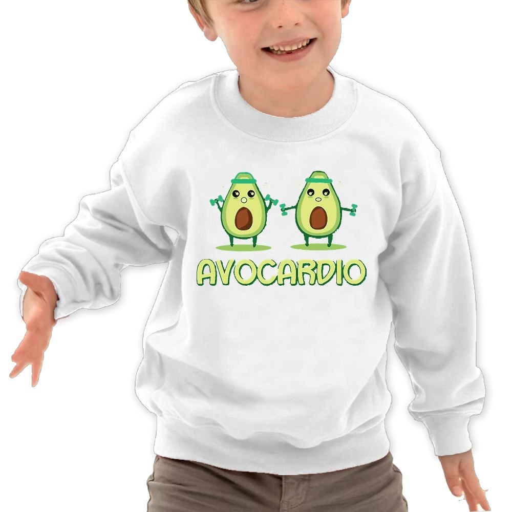 Babyruning Avocado Child Cotton Hoodie Cool Long-Sleeves Outerwear