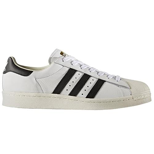 adidas superstar 80s w scarpa nero bianco