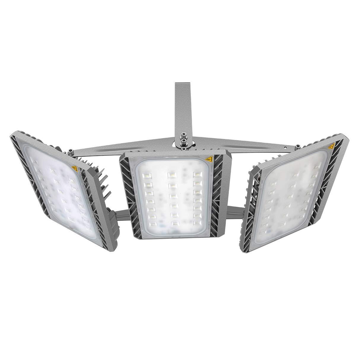 GOSUN® Super Hell 200W LED Fluter Außenstrahler 18000Lumen 230V IP65 CREE SMD5050 Kaltweiß , 36 Monate Garantie [Energieklasse A+] STASUN