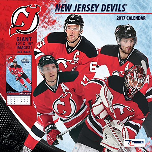 "Turner Licensing Sport 2017 New Jersey Devils Team Wall Calendar, 12""X12"" (17998011947)"