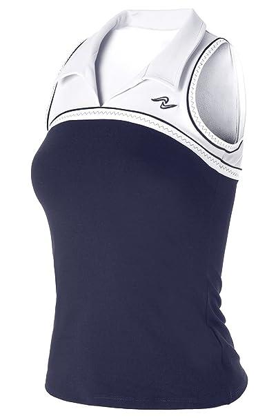 Naffta Tenis Padel - Camiseta Asas para Mujer, Color Negro/Coral Medio, Talla XS: Amazon.es: Deportes y aire libre