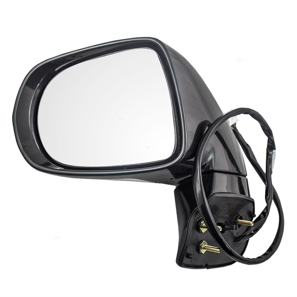 Drivers Power Side View Mirror Heated Replacement for Toyota Sienna Van 87940-08092-C0