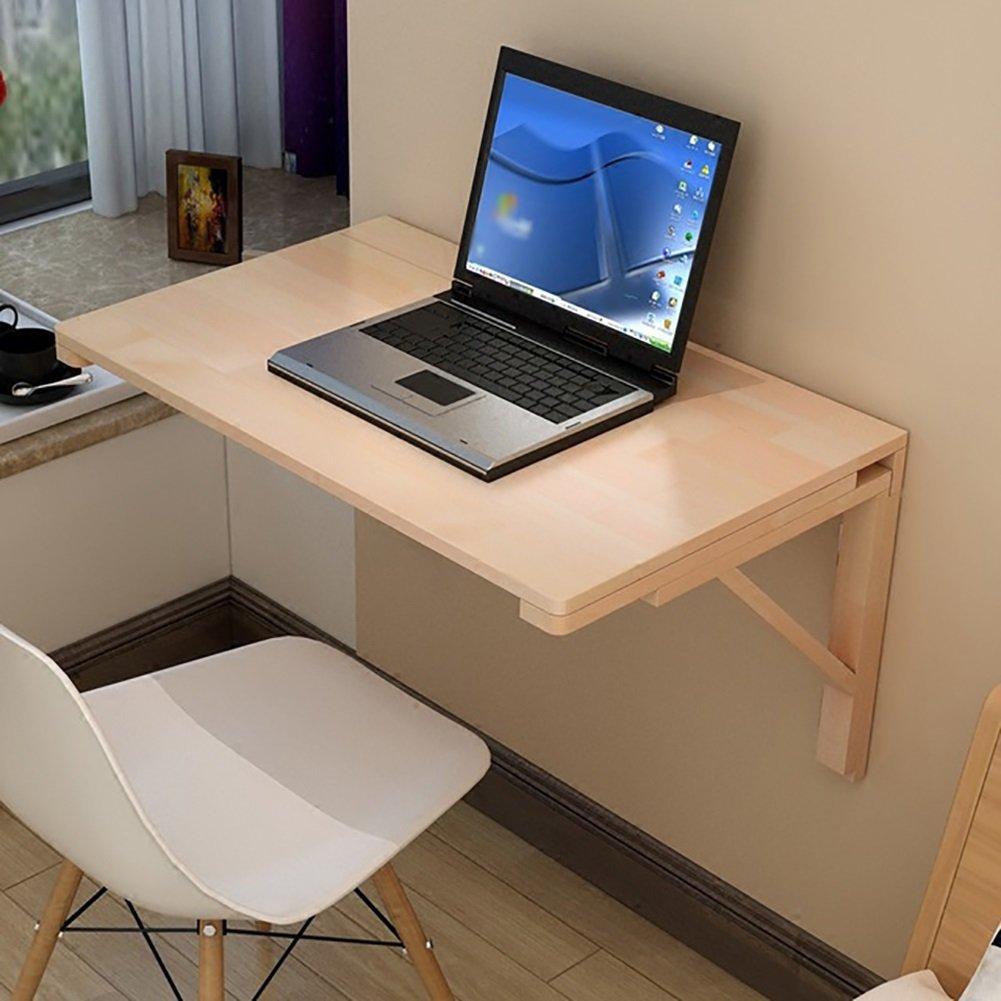 ZJM 木製の壁のテーブル折りたたみ式の壁取り付け型のデスクドロップリーフの食事用テーブルSecretaireコンピュータデスクのサイドテーブル ( サイズ さいず : 70*40cm ) B079BJXS55 70*40cm 70*40cm
