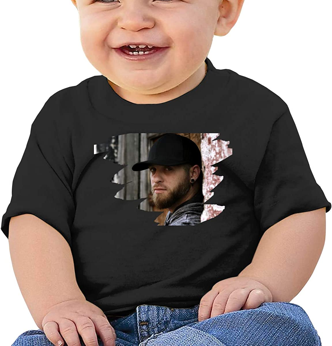 AsziSham Brantley Gilbert Custom Baby Soft Tee White Kid Summer T-Shirt