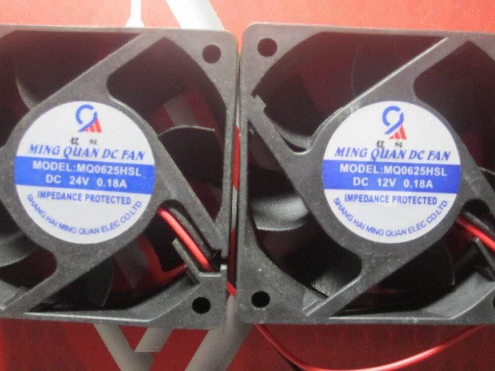 New MQ0625HSL axial flow fan 0.18A 12V 606025MM cooling fan