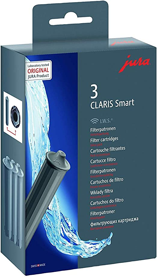 E6 E600 E60 JURA CLARIS SMART 5 x Filterpatrone für Z6