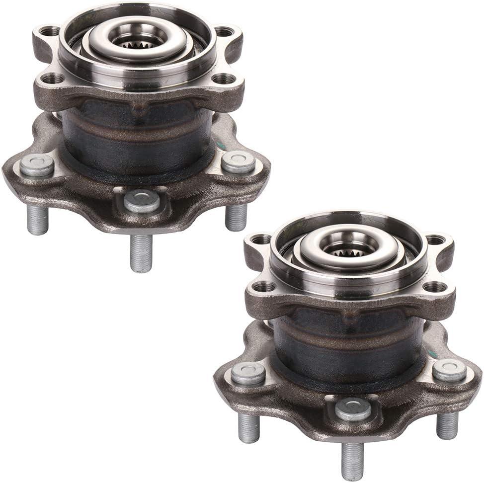 Qty.2pc For Nissan Juke Rogue Select Sport Qashaqi AWD REAR Wheel Hub Assembly