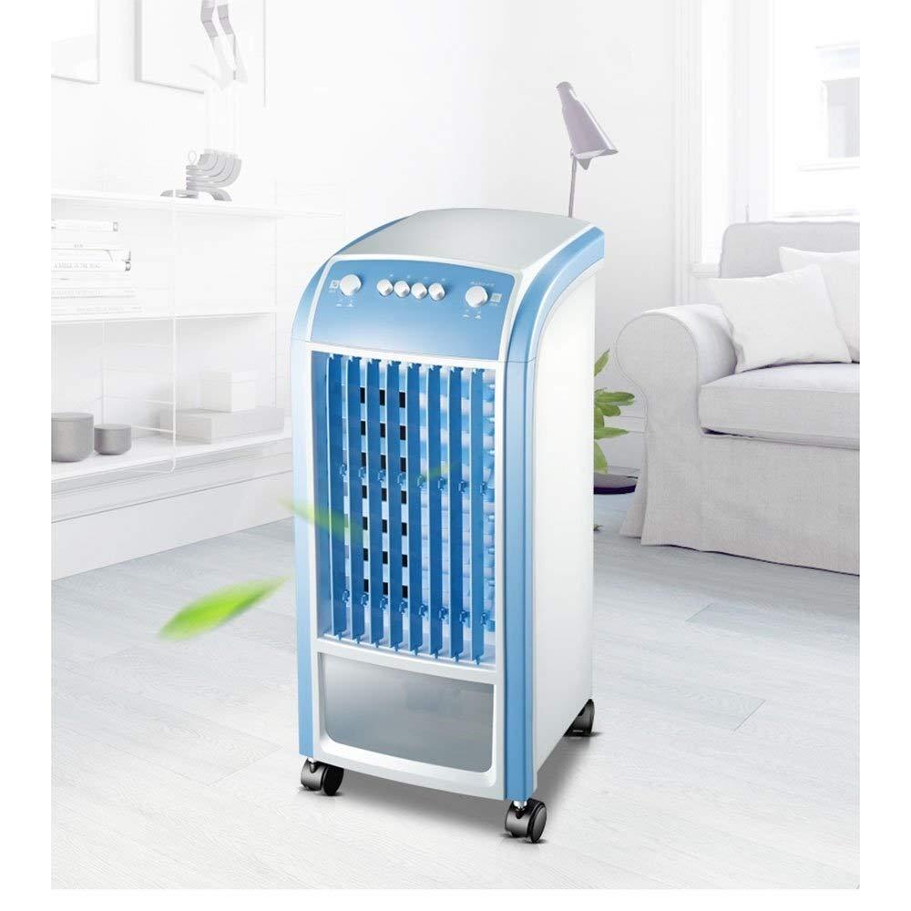 Ventilador de aire acondicionado m/óvil M/áquina Aire acondicionado individual Refrigeraci/ón por agua Humidificaci/ón Aire acondic Hogar silencioso El/éctrico Refrigerador de aire port/átil 3 velocidades