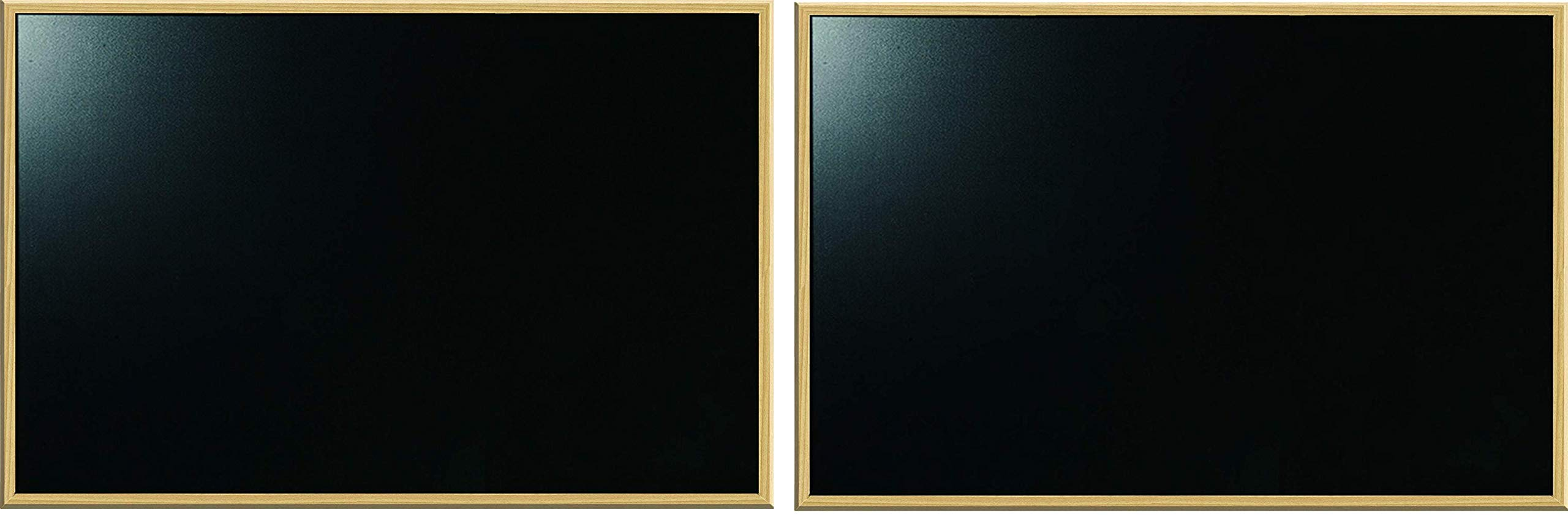 The Board Dudes Chalk Boards Wood Frame 23 x 35 inches (Twо Расk)