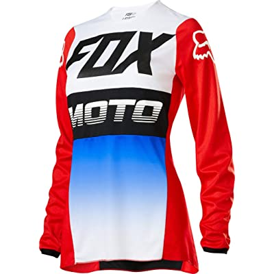 2020 Fox Racing Womens 180 Fyce Jersey-Blue/Red-XS: Automotive