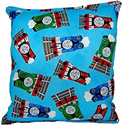 "Thomas The Tank Engine Pillow Thomas The Train Pillow Thomas And Friends Pillow HANDMADE In USA NEW Pillow is approximately 10"" X 11"" ."