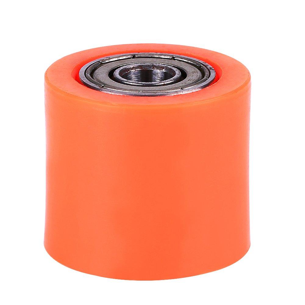 Kettenspanner 8mm Universal Kettenrollen Spannrolle Radf/ührung Chain Tensioner f/ür Motorrad-Dirt-Bike-Enduro Red