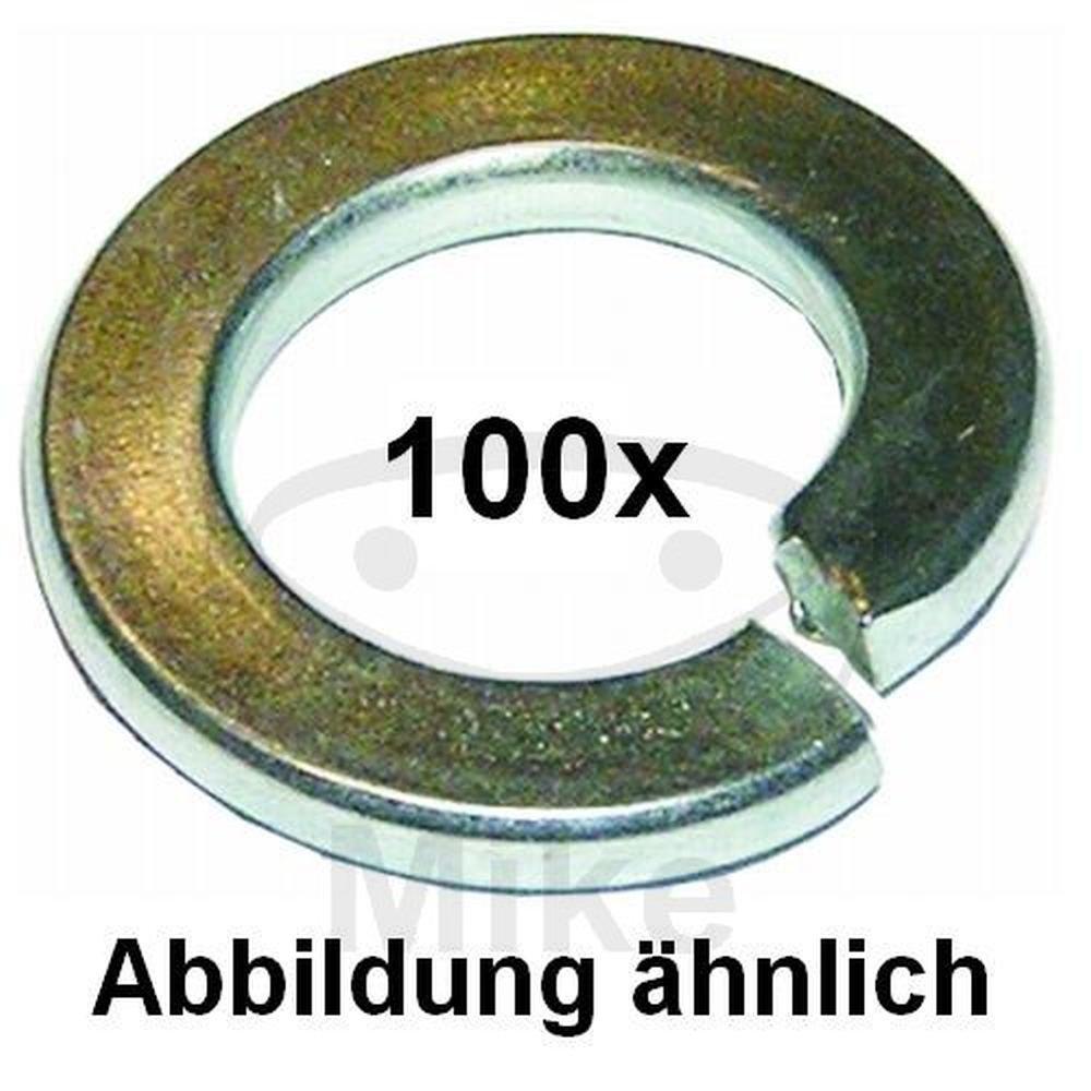 14 galv 100 St/ück Dresselhaus 0//1516//001//14,0// // //74 Federringe Form A verzinkt