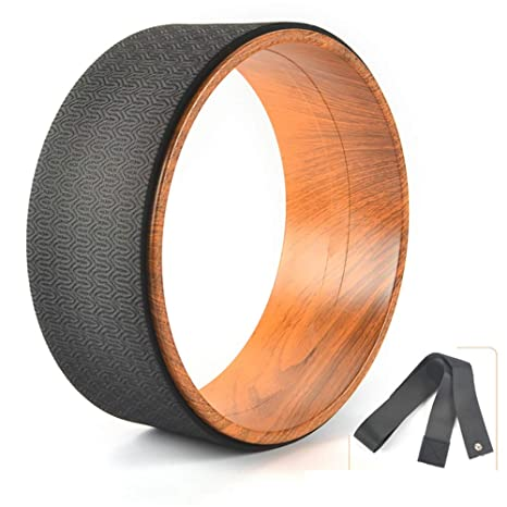 Amazon.com : Zhao Li Cork Yoga Wheel, Pro Grade, Dharma ...