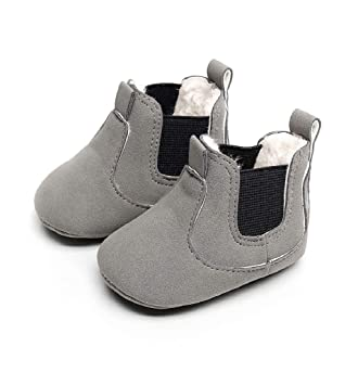 Chaussures Bébé Binggong Chaussures Enfant en bas âge Nouveau né Bébé Garçons Fille Berceau Bottes D'hiver Prewalker Chaud Martin Chaussures Pour Bébé