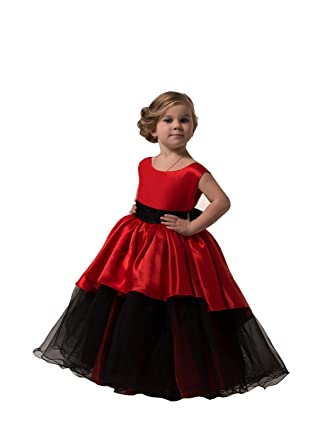 Amazon Banfvting Graduation Gown Children Red And Black Floor