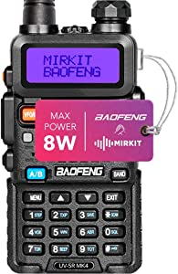 Mirkit Radio Baofeng UV-5R MK4 8W MP Max Power 2020 1800 mAh Li-Ion Battery Pack, BaofengRadio corp.