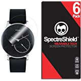 Spectre Shield (6 Pack) Screen Protector for Withings Activite Steel Accessory Withings Activite Steel Screen Protector…