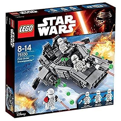 Lego 75100 [Star Wars First Order Snow Speeder]: Toys & Games