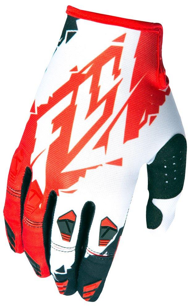 Fly Racing Handschuhe Kinetic Rot//Wei/ß