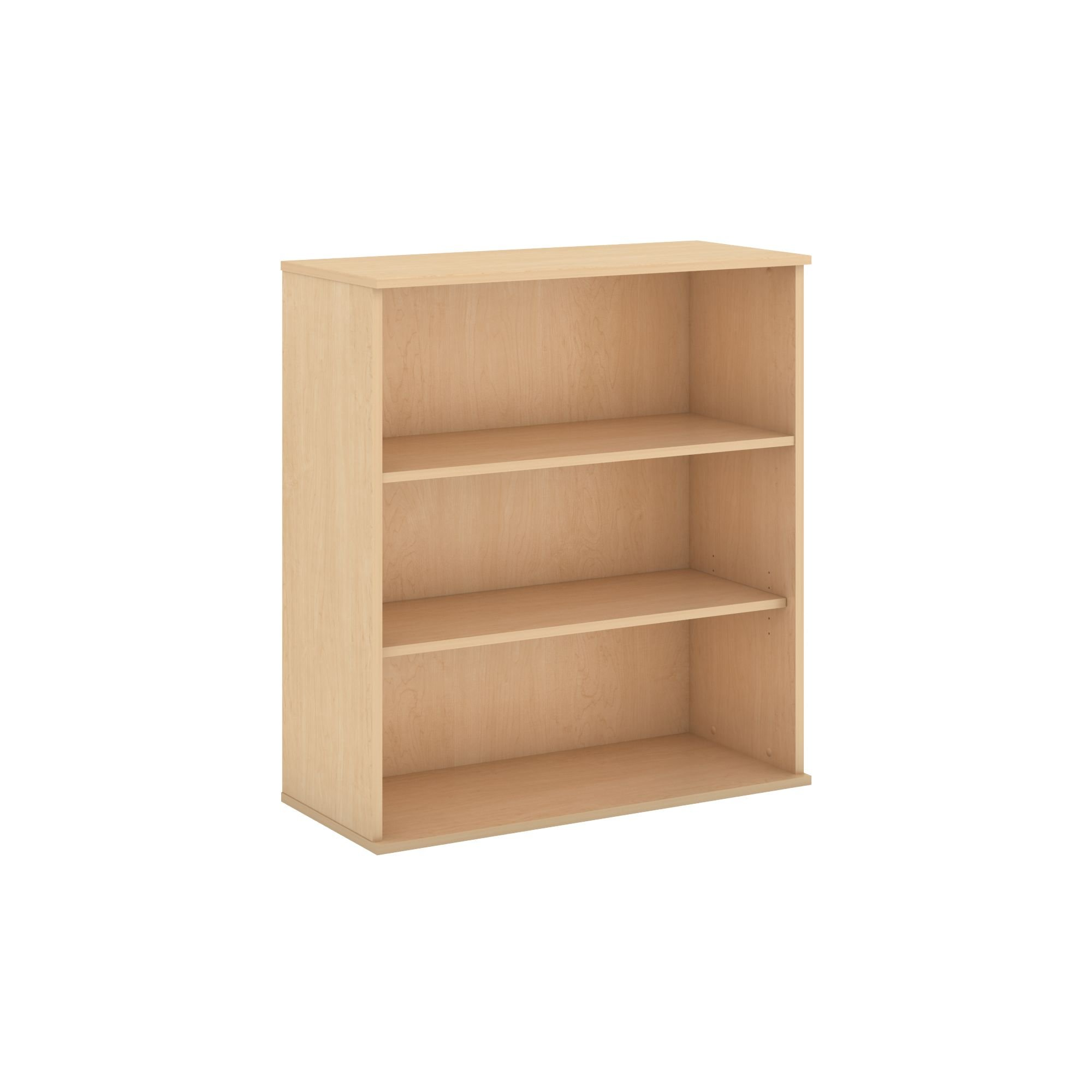 Bush Business Furniture 48H 3 Shelf Bookcase in Natural Maple by Bush Business Furniture