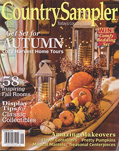 Country Sampler Magazine September 2016 -