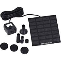 Solar Fountain Pump Solar Panel, Fabselection Power Water Fountain Kit for Garden Pond Pool Fountains