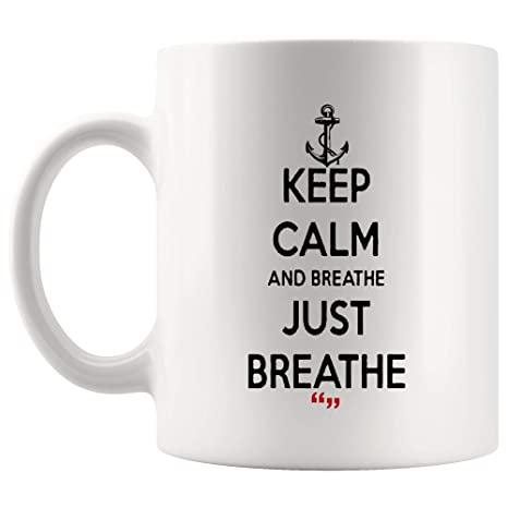 Amazon.com: Just Breathe Breath Life Air Hospital Emergency Doctor ... #coffeeBreath