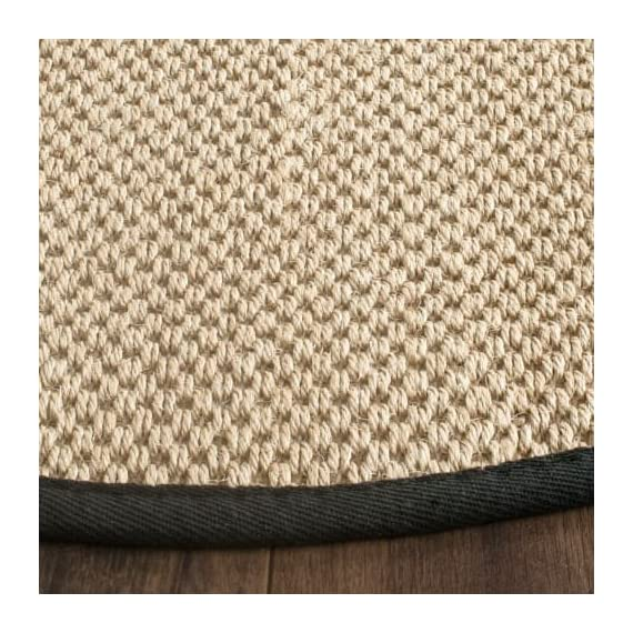 Safavieh NF141C-10 Area Rugs - Construction Power Loomed Fiber/Finish 100% Sisal Pile Backing Power Loomed Rugs Do Not Use Backing Material On The Underside Of The Rug. A Thin Coat Of Latex Is Applied To The Underside Of The Rug To Secure The Yarns Firmly In Place. This Latex Coat Is Virtually Invisible And Is Not Considered Backing Material. - living-room-soft-furnishings, living-room, area-rugs - 61a6qLn9 eL. SS570  -