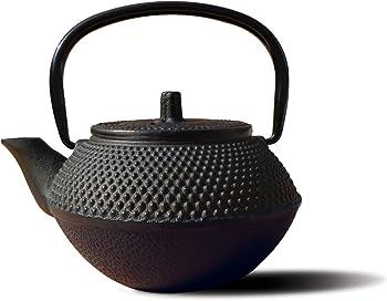 Old Dutch 11 Oz Black Cast Iron Saga Teapot