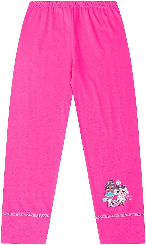 Girls Official LOL Surprise Pyjamas Pj Girls Go L.O.L Pink 30186