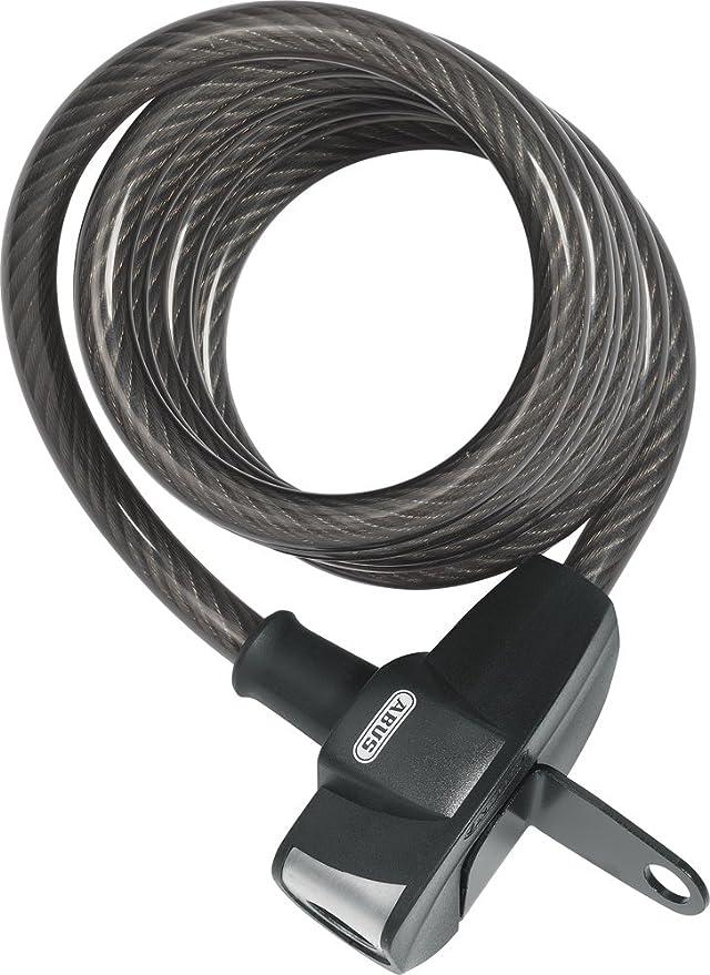 Abus Booster - Candado para Bicicletas, tamaño 180 cm, Color Negro ...