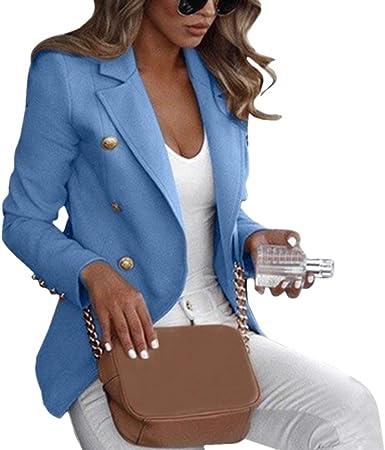 Tootless-Women Skinny 1 Button OL Solid Notch Lapel Blazer Pants Suit Set